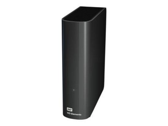 WD Elements 3TB, USB 3.0, WDBWLG0030HBK-EESN