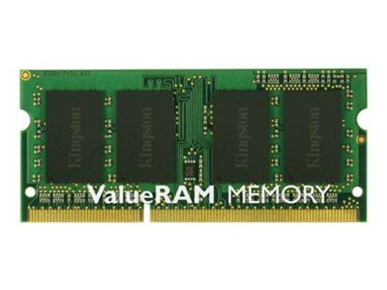 KINGSTON 2GB 1600MHz DDR3 Non-ECC CL11 SODIMM SR X16, KVR16S11S6/2