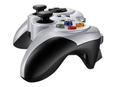 Logitech Gamepad F710, bezdrátový, stříbrný