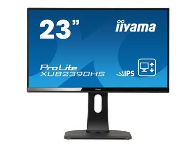 Iiyama LCD XUB2390HS-B1 23``LED,IPS,5ms,VGA/DVI/HDMI,repro,1920x1080,HAS,pivot,č, XUB2390HS-B1