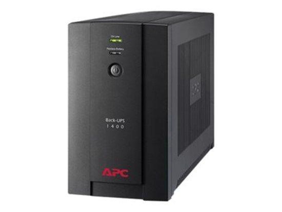Záložní zdroj APC Back-UPS 1400VA, 230V, AVR, klasické zásuvky, BX1400U-FR
