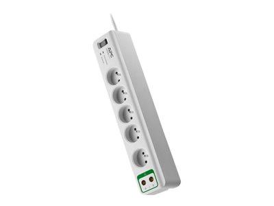 APC SurgeArrest Essential, 5 zásuvek + koax. (PM5V-FR)