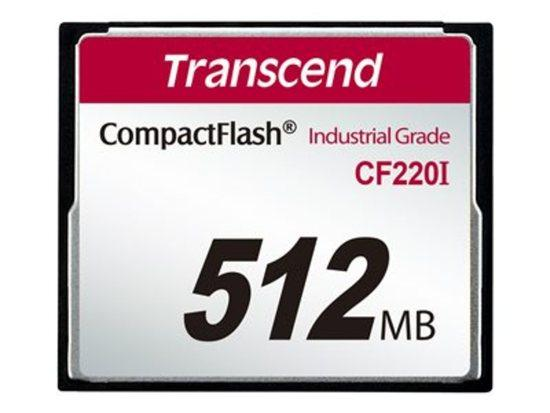 Transcend Industrial CompactFlash CF220I 512MB TS512MCF220I