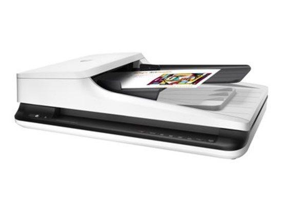 HP ScanJet Pro 2500 f1 Flatbed Scanner (A4,1200 x 1200, USB 2.0, ADF, Duplex) , L2747A
