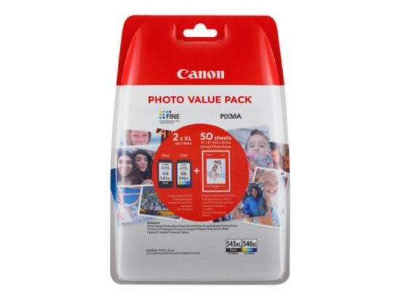 Canon PG-545 XL/CL-546 XL + 50x GP-501, 8286B006