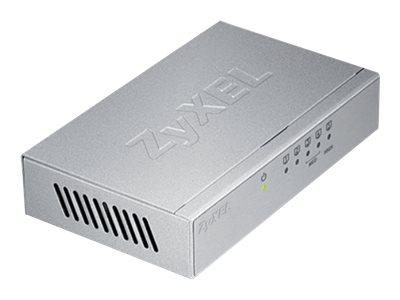Zyxel GS-105B, 5-port 10/100/1000Mbps Gigabit Ethernet switch, desktop, GS-105BV3-EU0101F