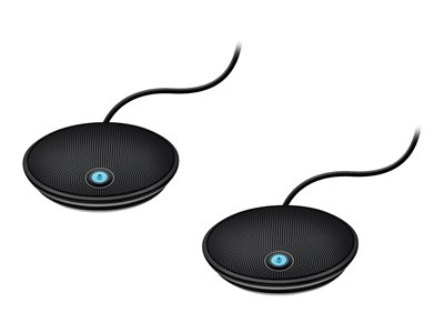Logitech® Expansion Microphone (2 pack) for GROUP camera, 989-000171