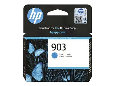 Inkoustová cartridge HP 903, do tiskárny OfficeJet Pro 6950, 6960, 6970, azurová, HP, T6L87AE