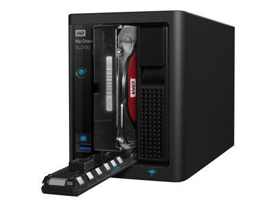 WD My Cloud Pro PR2100 WDBBCL0080JBK-EESN, WDBBCL0080JBK-EESN