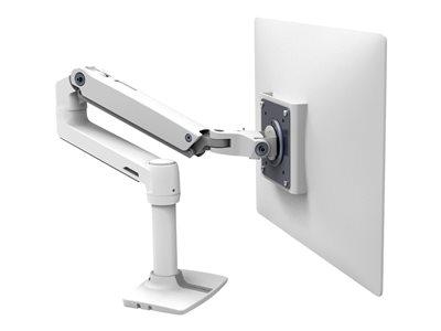 ERGOTRON, 45-490-216/LX desk arm no grommet mount, 45-490-216