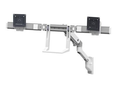 ERGOTRON, HX Wall Dual Monitor Arm White, 45-479-216
