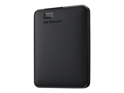 WD HDD 1,5TB USB3.0 BK Elements, WDBU6Y0015BBK-WESN