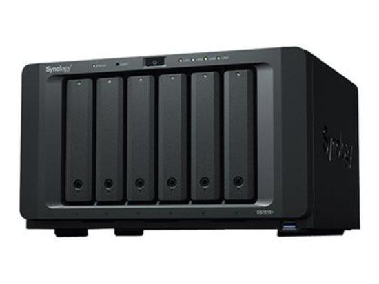 Synology DS1618+ 6x SATA HDD, Quad Core 2.1GHz, 4GB RAM, 4x GLAN, 3x USB3.0, 2x eSATA, DS1618+