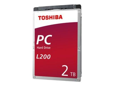 TOSHIBA, L200 Laptop PC HDD 2TB 2.5 Bulk