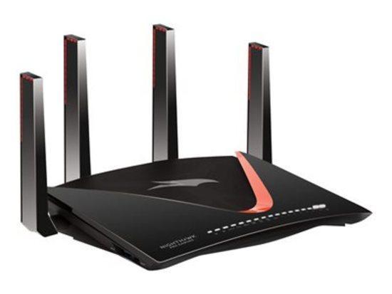 Netgear AD7200 Nighthawk PRO Gaming Quad Stream WiFi Router VPN Client (XR700), XR700-100EUS