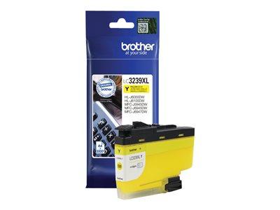 LC3239XLY Inkoust pro HL-J6000DW, MFC-J5945DW, MFC-J6945DW, MFC-J6947DW tiskárny, BROTHER žlutá, LC3239XLY