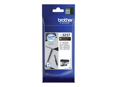 LC3237BK Inkoust pro HL-J6000DW, MFC-J5945DW, MFC-J6945DW, MFC-J6947DW tiskárny, BROTHER černá, LC3237BK