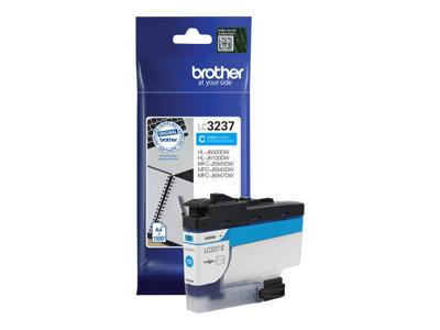 LC3237C Inkoust pro HL-J6000DW, MFC-J5945DW, MFC-J6945DW, MFC-J6947DW tiskárny, BROTHER cyan, LC3237C