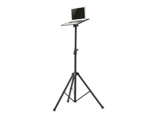 NewStar Flat Screen / Laptop Floor Stand - (height: 108-178 cm) NS-FS200BLACK, NS-FS200BLACK