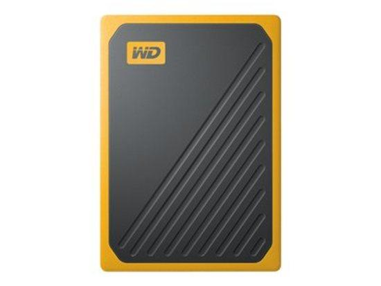 SANDISK, SanDisk My Passport Go 500GB BK w/Amber, WDBMCG5000AYT-WESN