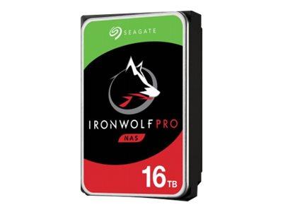 "Seagate IronWolf Pro 3,5"" - 16TB (NAS) 7200rpm/SATA-III/256MB, ST16000NE000"
