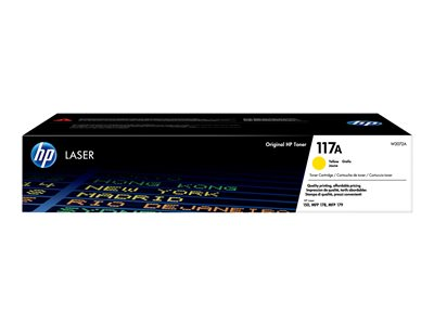 HP toner 117A (yellow, 700str.) pro HP Color Laser 150a, 150nw, HP Color Laser MFP 178nw, 179fnw, W2072A