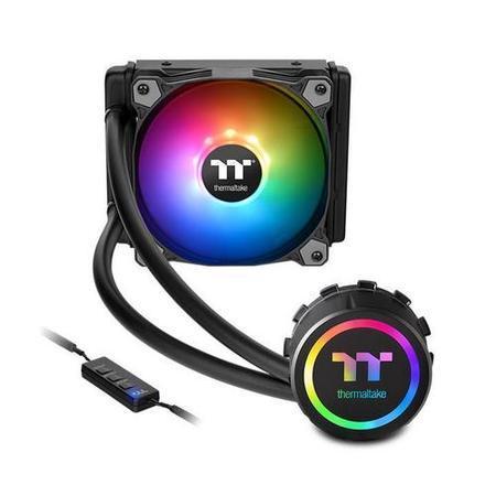 THERMALTAKE Water 3.0 120 ARGB SYNC komplet vodního chlazení CPU, chladič 151mm s 1x ventilátorem 120mm (pro INTEL a AMD), CL-W232-PL12SW-A