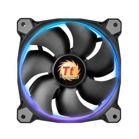 THERMALTAKE Riing 12 LED RGB Fan ventilátor PWM - 120x25mm (1 ks v balení, řízené LEDky, s řadičem)