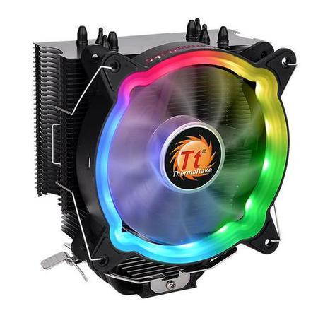 THERMALTAKE UX200 ARGB Lighting CPU Cooler, chladič procesoru do 130W, CL-P065-AL12SW-A