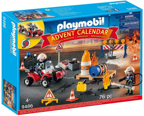 PLAYMOBIL® Adventní kalendář 9486 Hasiči