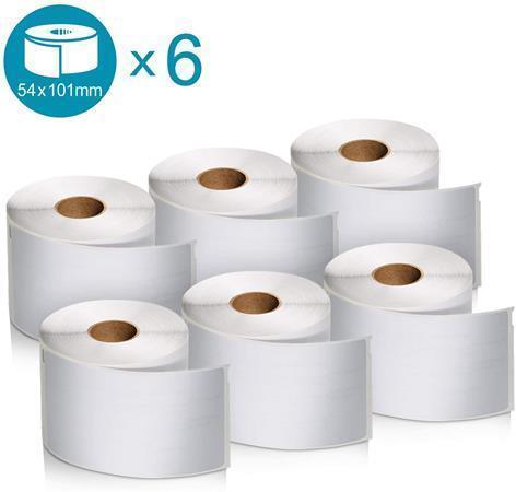 Etikety, odolné, k tiskárnám LW, 101x54 mm, 220 ks, DYMO, box 6 ks, 2093092
