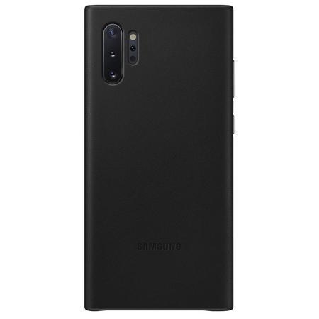 EF-VN975LBE Samsung Kožený Kryt pro N975 Galaxy Note 10+ Black