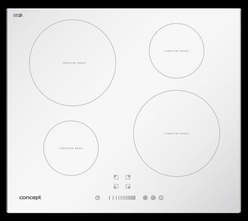 Concept IDV2760wh Indukční deska vestavná 60 cm se sliderem WHITE