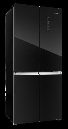 Concept LA8783bc Česká Amerika, Volně stojící kombinovaná chladnička s mrazničkou BLACK