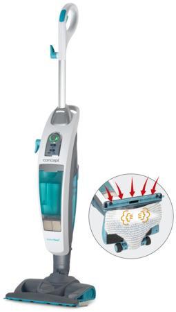 Concept CP3000 Vysavač a parní čistič Perfect Clean 3 v 1