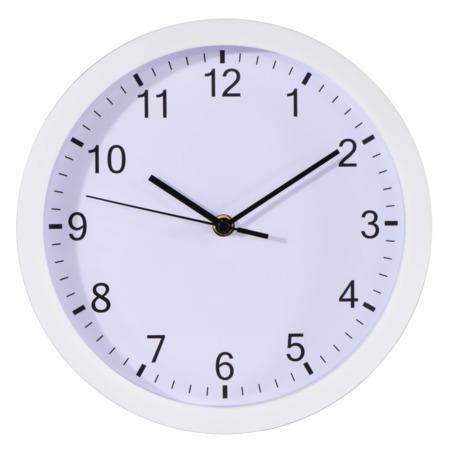 Hama Pure, nástěnné hodiny, 25 cm, tichý chod, bílé