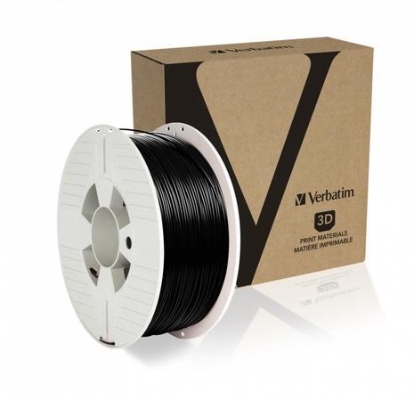 VERBATIM 3D Printer Filament PET-G 1.75mm 1000g black, 55052