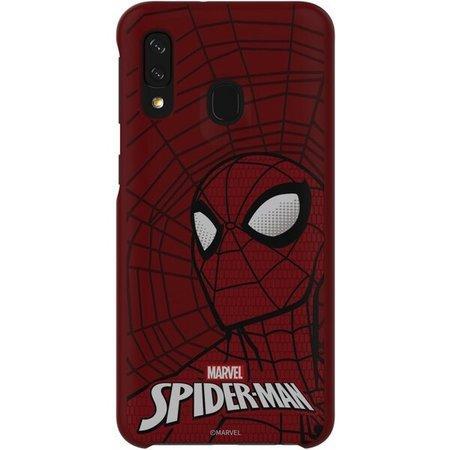 Pouzdro Stylové Spider-Man Galaxy A40 - červené
