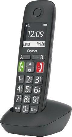 SIEMENS Gigaset E290HX - přídavné sluchátko vč. nabíječky, barva černá, GIGASET-E290HX