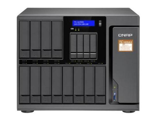 """QNAP TS-1635AX-8G Turbo NAS server, 1,6 GHz QC/8GB/12xHDD/4x 2,5""""HDD/1xGL+1x10GL+1xMultiGL/USB 3.0/R0,1,5,6/, UQ240"""