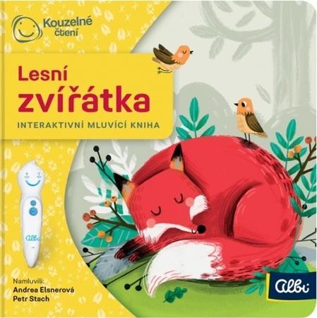 Minikniha Lesní zvířátka