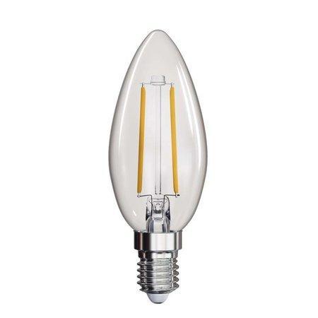 LED žárovka Filament Candle 2W E14 teplá bílá