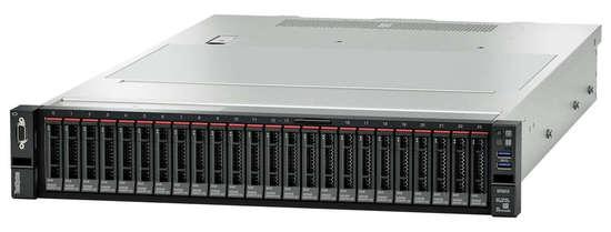 Lenovo ThinkSystem SR655 AMD EPYC 7302P 16C 3.0GHz 155W/1x32GB/No Bays/No RAID/1x750W , 7Z01A02CEA
