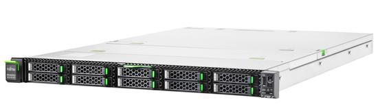 Fujitsu PRIMERGY RX2530 M5 8x2.5`/Silver 4210 10C 2.10 GHz/16GB/bez HDD/4x1Gb/iRMC/800W platinum hp, VFY:R2535SC030IN