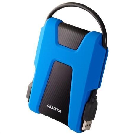 """ADATA Externí HDD 2TB 2,5"""" USB 3.1 AHD680, modrý (gumový, nárazu odolný), AHD680-2TU31-CBL"""