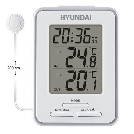 Meteostanice Hyundai WS 1021, bílá