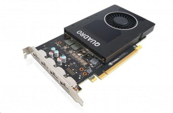 ThinkStation Nvidia Quadro P1000 4GB GDDR5 Mini DP * 4 Graphics Card with HP Bracket, 4X60N86661