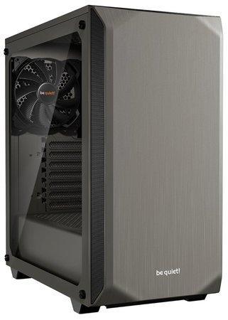 be quiet! PC skříň Pure Base 500 Window, metallic grey, ATX, M-ATX, mini-ITX