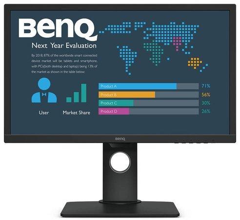 """BenQ LCD BL2483T Black 24""""/TN LED/FHD/12M:1/1ms/HDMI/DVI/VGA/Jack/pivot"""