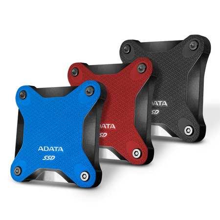 ADATA externí SSD SD600Q 480GB black, ASD600Q-480GU31-CBK